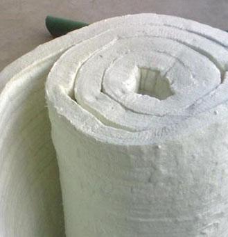 铝酸铝甩丝纤维毯