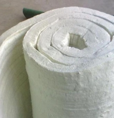 伊犁铝酸铝甩丝纤维毯